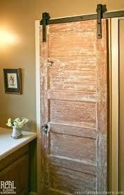 barn door bathroom vanity noise hardware rustic lowes