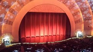 Radio City Music Hall Section 2nd Mezzanine 6 Row A Seat