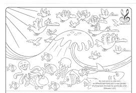 creation coloring sheet sure fire creation coloring sheets pages with bible days of