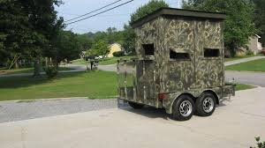 danny tackett home deer blind shooting house plans a step by step