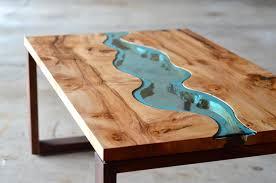 Coffee Table, Unusual River Coffee Table Design Creative Coffee Tables:  Best Unusual Coffee Tables Ideas
