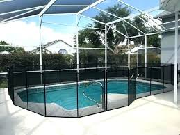 pool fence cost average cost of