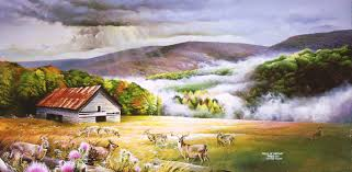 one of the most popular forms of art is that of a landscape painting a landscape painting captures the feel and the beauty of a certain special place