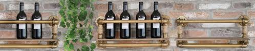 wall mounted wine racks holders