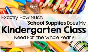 Supplies For Your Kindergarten Class Simply Kinder
