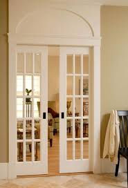 Interior sliding french door Build In Blind Sliding French And Lovely Molding To Ceiling Would Love This In The Addition From The Kitchen To The Officeplay Room For The Home French Doors Pinterest Sliding French And Lovely Molding To Ceiling Would Love This In