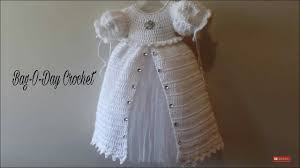 Free Crochet Christening Gown Patterns Awesome Inspiration Ideas