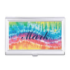 tie dye business cards tie dye business card holders cases zazzle
