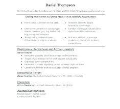Modern Dance Resume Dancer Resume Template Dance Resume Template Dance Resume Template