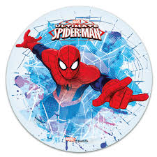 Edible Cake Topper Spiderman Jump Décorelief