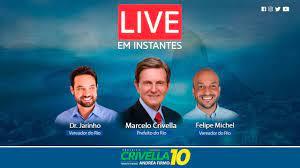 Live com Crivella - Convida os Vereadores Dr. Jairinho e Felipe Michel -  YouTube