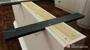 support for granite countertop overhangs granite overhang support large image for granite countertop overhang support bracket