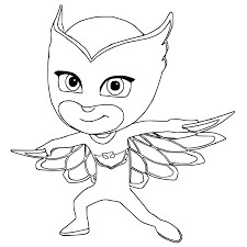 Small Picture Top 30 PJ Masks Coloring Pages Of 2017 Pj mask
