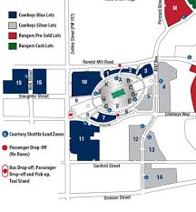 Cowboys Stadium Map Parking All About Cow Photos