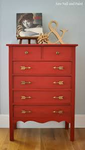 restoring furniture ideas. Simply Red Painted Chest Of Drawers Restoring Furniture Ideas