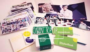 diy print your own kpop photos cards stickers etc you