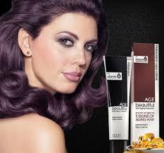 Age Beautiful Hair Color Chart Age Beautiful Dark Plum Brown Hair Color Hair Coloring
