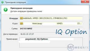 Вывод средств из iq option, бинарные опционы попробовпть бесплатго