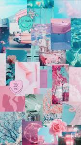 Pastel Collage Wallpapers - Wallpaper Cave