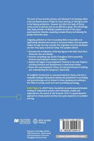 Psychodynamic Approach Psychodynamic Theory For Therapeutic Practice Amazon Co Uk