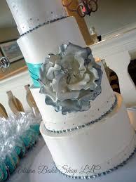 Contemporary Bohemian Modern Wedding Cakes Custom Wedding Cakes