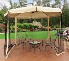 patio umbrella with mosquito screen