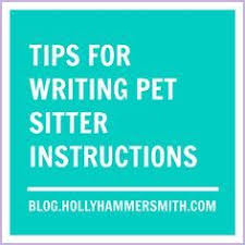 Pet Sitting Instructions Template Pet Sitter Instructions Template 61 Best Pet Sitting Service