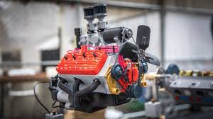 Mechanical Engineer Cars Engineer Builds Functioning 3d Printed Models Of Car Engines