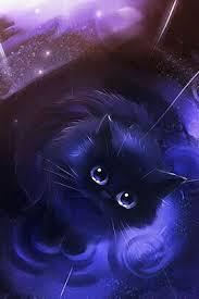 black cat with blue eyes anime. Black Cat Throughout With Blue Eyes Anime