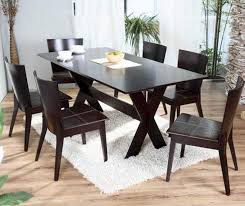 black wooden dining table set black dining room table sets good with regard to dark wood