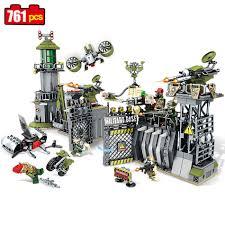 Online Shop Sembo block 761pcs military Defensive wall building blocks  Compatible Legoed forces war enlighten DIY bricks toy for Children |  Aliexpress ...