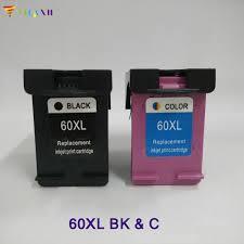 2PK <b>Vilaxh</b> compatible 60 XL Ink Cartridge replacement For <b>HP</b> 60xl ...
