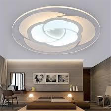 led modern flower acrylic ceiling light chandelier lighting