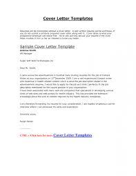 Cover Letter Sample Doc Image Collections Letter Format Formal