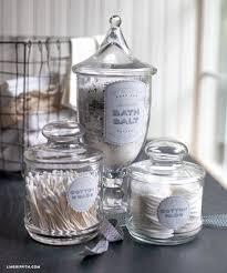 Decorative Jars For Bath Salts Bathroom Jars Bathrooms 58