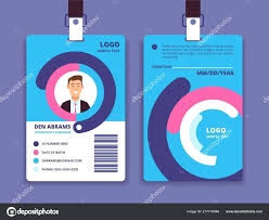 Company Id Card Template Business Id Card Template Seraffino Com