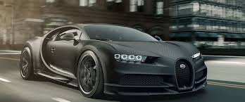 The official figure says the chiron is able to do 420km/h, or 261mph, but that's misleading because it is both electronically limited and slower than the old bugatti. Bugatti Edition Chiron Noire Exclusive Special Model