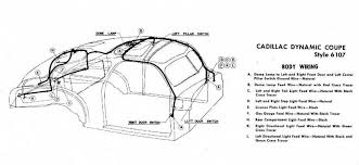 schematic car wiring diagram page 9 body wiring for 1946 47 cadillac dynamic coupe style 61071