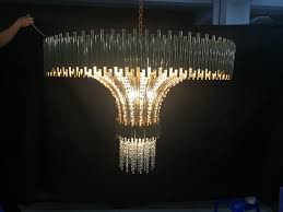 luxury hotel project stainless steel crystal chandelier ka777 d920