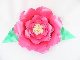 Flower Templates For Paper Flowers Giant Paper Flower Templates Diy Paper Flowers Svg Flower