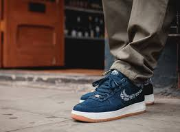 NikeiD Air Force 1 Low Premium Indigo Collection  The Drop Date