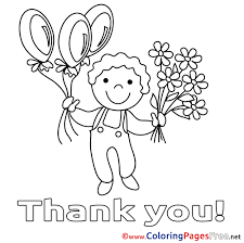 Thank You Coloring Pages For Gallery Wonderful Totercomposter