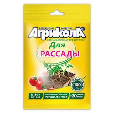 <b>Удобрение для рассады</b> Агрикола 6, 50 г - купите по низкой цене ...