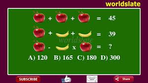viral math problem stumping the internet apple plus banana