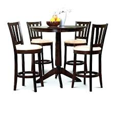 used bar tables and chairs for round bar table with stools tall round table with