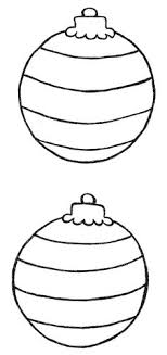 free christmas templates to print round ornaments with 3 different printable ornaments digital image