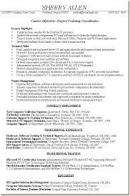 Project Coordinator Resume Project Coordinator Resume Examples Best