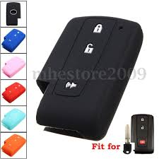 Cool Great Silicone 3 Buttons Remote Key Case Cover For Toyota ...