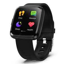 <b>Smart Watch</b> Mens Watches Full Screen Touch Square Dial Heart ...