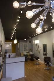 salon lighting ideas. salon tour deep blue hair studio today lighting ideas h